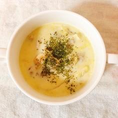簡単♪チキン豆乳スープ