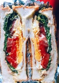 おいしいヘルシーサンドイッチ!