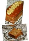 バナナと胡桃のパウンドケーキ