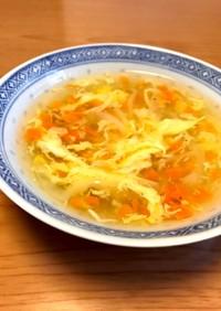 簡単☆中華風かきたまスープ