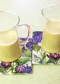 バナナきな粉ミルクドリンク