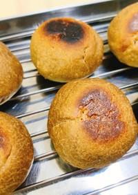 フライパンで焼ける!薄力粉パンほうじ茶