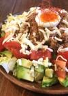 レンジで簡単♡野菜たっぷりタコライス