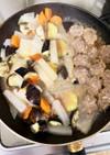 もやしつくね野菜たっぷり煮崩れない味噌煮