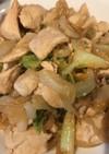 鶏肉とキャベツの味噌炒め