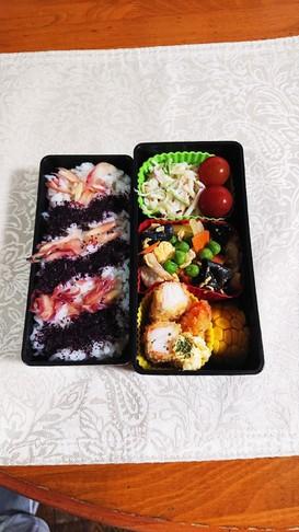 豚肉とキクラゲの中華炒めのお弁当です