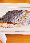 ふっくら焼ける♡フライパンで鰆の塩焼き