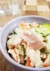 糖質オフ☆亜麻仁油で美味しいおからサラダ