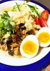 野菜たっぷり(o^^o)冷し坦々麺