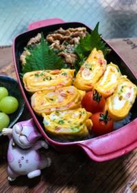 カニカマ卵焼き弁当