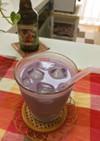 ブルーベリーミルク