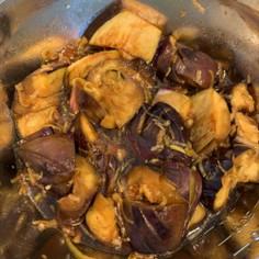 茄子の中華風香味浸し