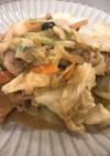 ごま味噌野菜炒め