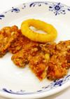 【病院】鶏肉の竜田揚げ【給食】