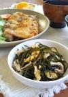 アスリート食★ボイル刻み昆布と豚肉の炒煮