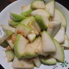 茅野舎野菜だしの干瓢(かんぴょう)炒め