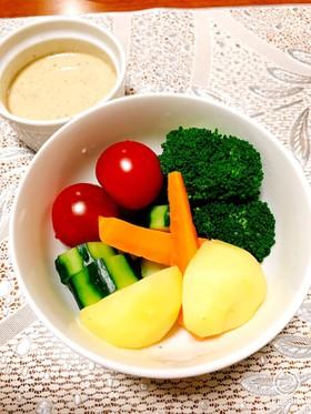 野菜がパクパク♪温野菜ディップ☆☆