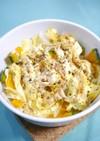 レンジで簡単!サラダチキンとたっぷり野菜