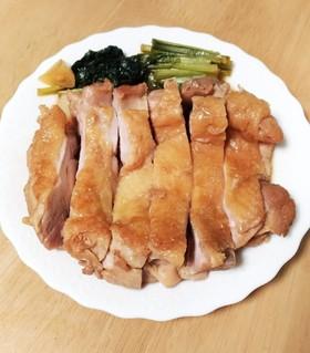 やわらか!鶏もも肉のにんにくポン酢煮