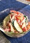 パプリカ・きゅうり・玉葱のシーザーサラダ