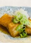 厚揚げで簡単♬揚げ出し豆腐風