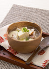 高野豆腐とベーコンのスープ