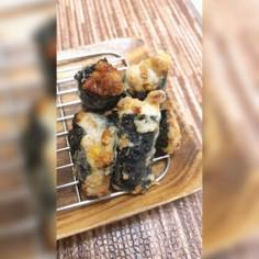 納豆海苔巻き天ぷら