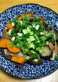 簡単〜野菜たっぷり〜どんこ香る煮物