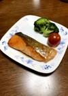 簡単!鮭のソテー☆照り焼きソース