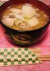 豚肉と大根の味噌汁
