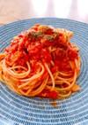 薫の塩麹にんにくツナトマトパスタ
