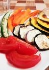 おつまみに☆夏野菜たっぷり焼きサラダ