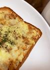 ツナキャベツのチーズパン