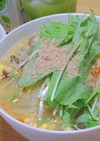夏に簡単サッパリと塩酸辣湯麺!