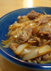 麺つゆで10分!超美味しい豚の生姜焼き♪