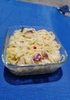 私弁当~その4『キャベツの漬物パスタ』