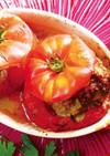 ハーブとチーズ香るトマトファルシ