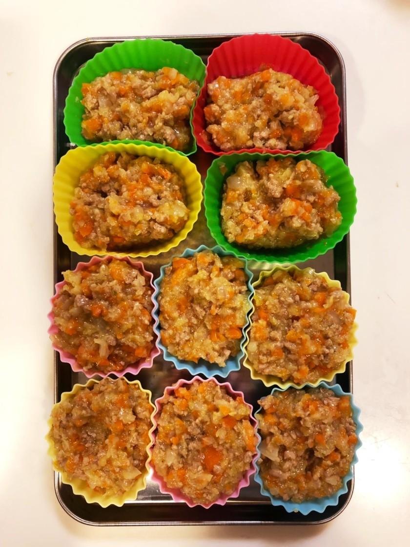 離乳食☆キャベツと挽肉の野菜炒め