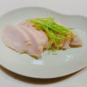 塩麹で 簡単サラダチキン☆鶏ハム