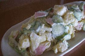 カロリー控えめポテトサラダ