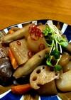 こんにゃくと根菜の炒り煮 *☻*