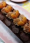 簡単ふわふわ!チョコレートロールケーキ☆