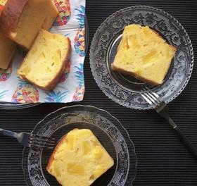 パインココナッツヨーグルトパウンドケーキ