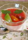 夏にオススメ!カラフルトマトのレアチーズ
