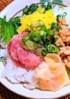 納豆トロタク丼