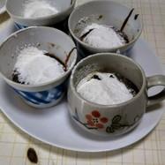 茶碗蒸しコップフォンデショコラ