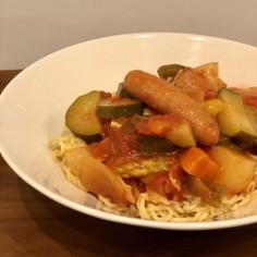 サッポロ一番deラタトゥイユ麺