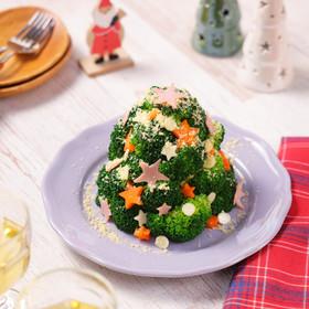 ポテトサラダのクリスマスツリー☆
