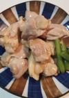 照り焼きガーリック塩チキン