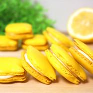 冷蔵庫で乾燥!かわいいレモンマカロン